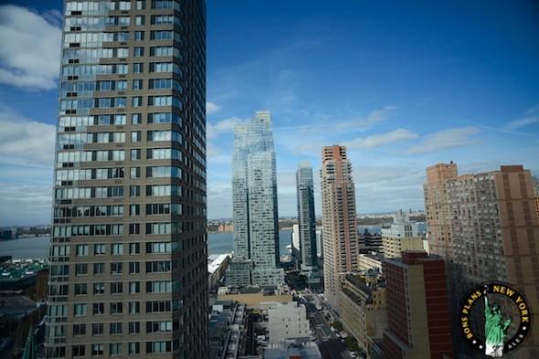 Hotel Yotel NYC panorama