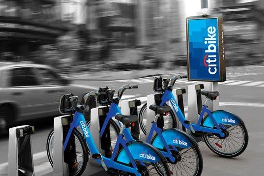 Citi Bike Nueva York azul