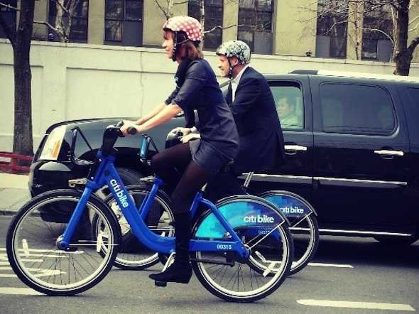 Citi Bike Nueva York casco
