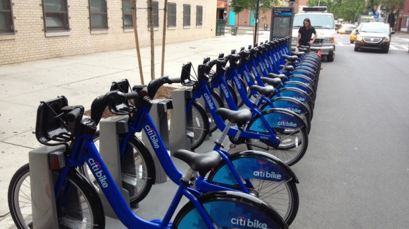 Citi Bike Nueva York linea