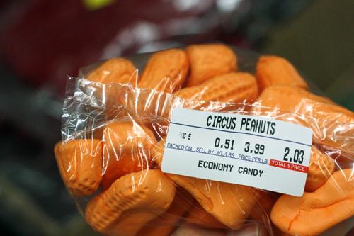 Economy Candy NY Circus Peanuts