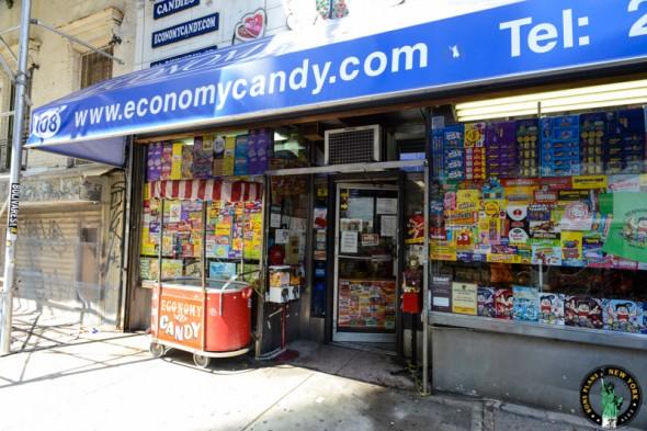 Economy Candy NY Fuera entrada