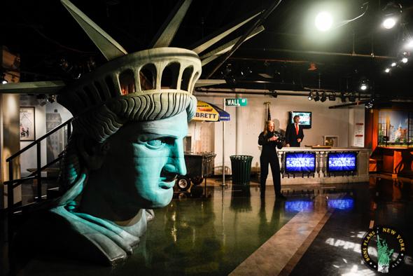 Estatua libertad Tussauds MPVNY