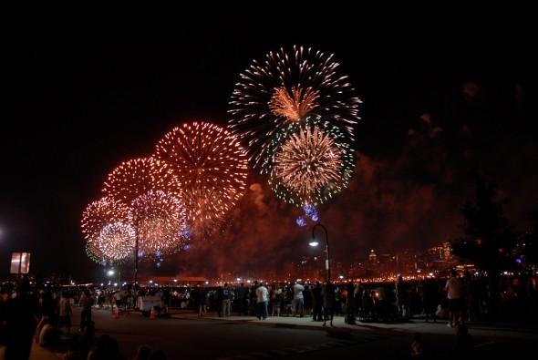 Macy's Fireworks 4 de julio NY