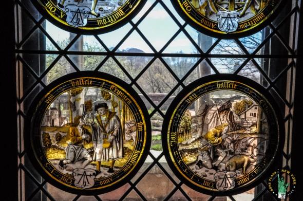 The Cloister NY vitrales