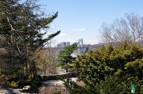 Washington Bridge desde Fort Tryon Park NY