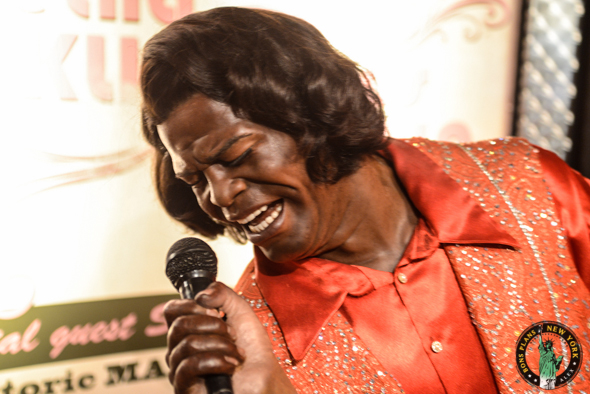 james brown Tussauds MPVNY
