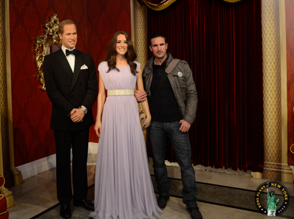 kate william Tussauds MPVNY