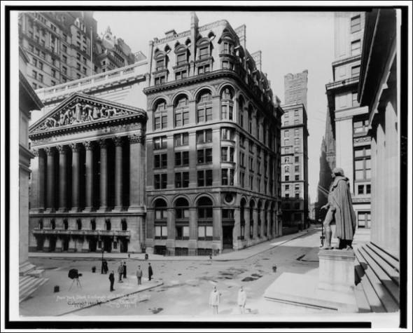 Wall Street – 1920-hoy