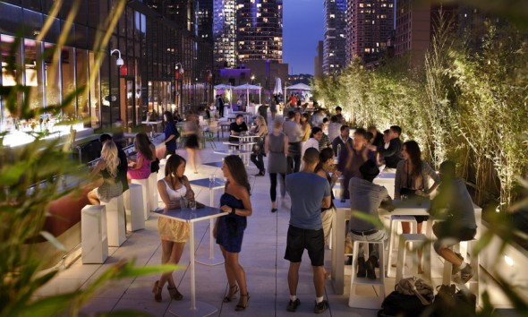 terraza Yotel Hotel NYC