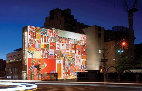 Barry McGee Mural street art NYC