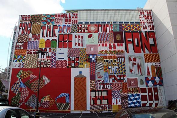 Barry McGee Mural street art ny
