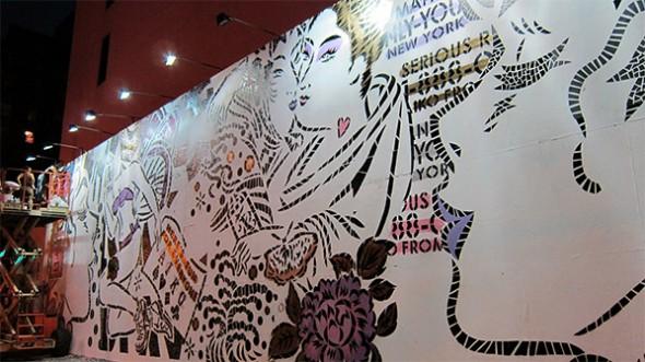 aiko mural street art ny