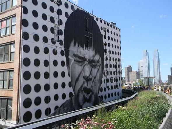 JR high line nyc street art