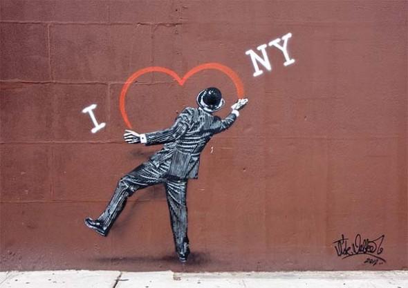 I love NY street art