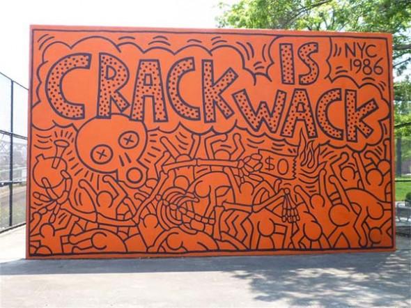 crack is wack nueva yorrk street art