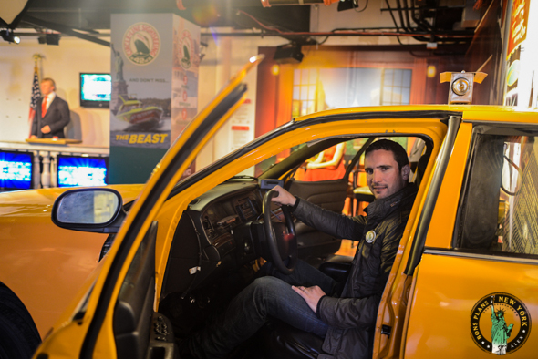 taxi Tussauds MPVNY