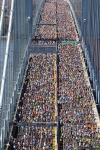 verrazano narrows bridge marathon NY