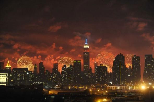 whyte hotel macy's fireworks 2013 NY