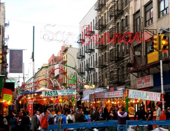 San gennaro NYC