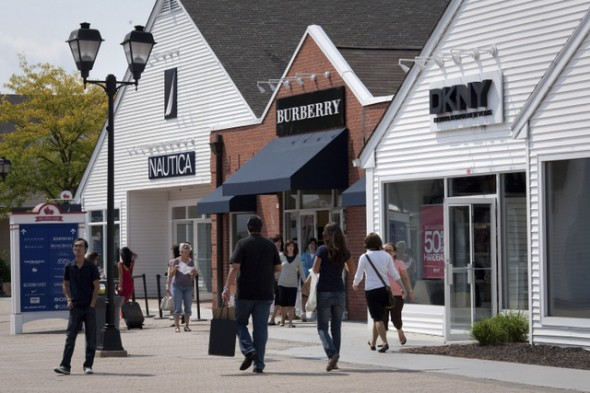 Woodbury Common premium outlets fuera