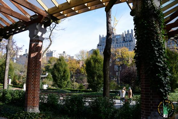 Zoo Central Park NY pergola