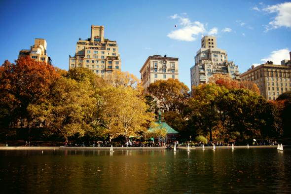 central park otoño