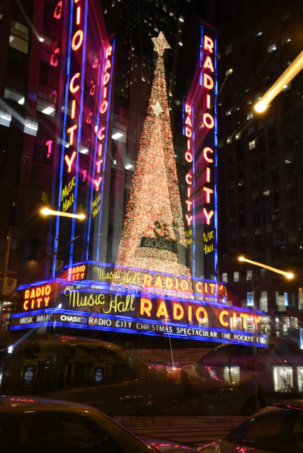 radio city hall ny New York Night Photo Tour de Citifari