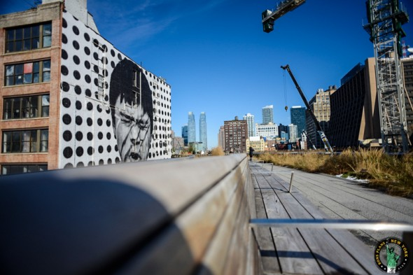 street art high line ny