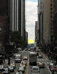 2 Manhattanhenge NY Full sun on the grid MPVNY
