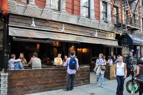 Bua bar exterior new york
