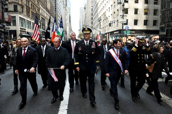 Veterans'day nueva york 2013