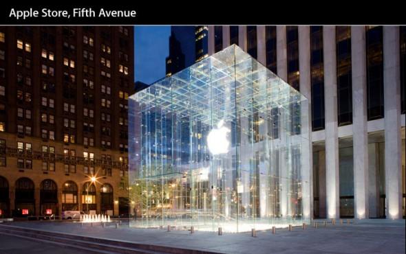 apple store 5th avenue fuera MPVNY