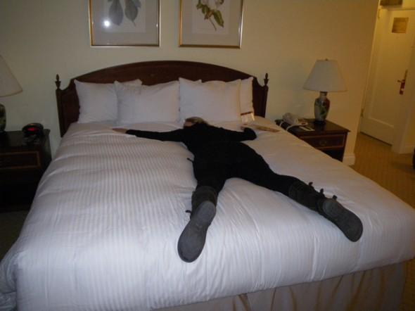 cama Hotel Warwick nueva york