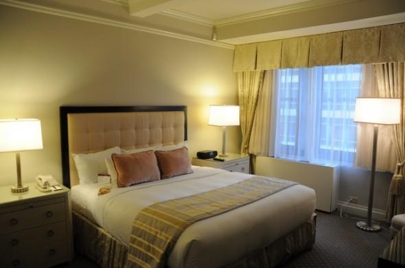 habitación Hotel Warwick nueva york