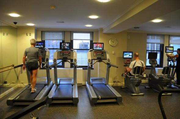 sala fitness Hotel Warwick nueva york