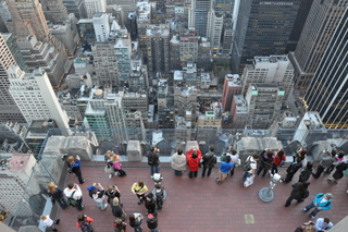 top of the rock desde arriba