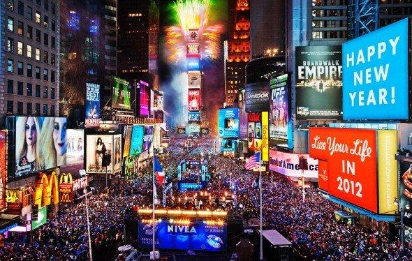 Times Square nochevieja NY MPVNY
