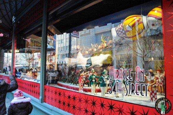 vitrinas navidad en NY MPVNY