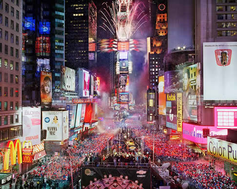1 Times Square Ball Drop MPVNY