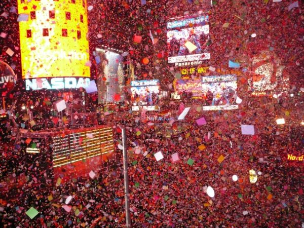 4 Times Square Ball Drop Nochevieja MPVNY