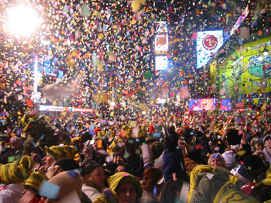 8 Times Square Ball Drop Nochevieja MPVNY