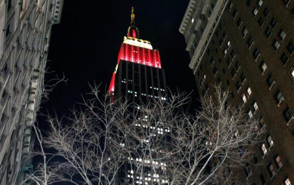 año nuevo nueva york MPVNY Empire state building