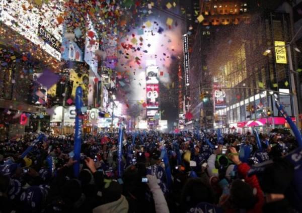 año nuevo nueva york MPVNY times square