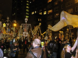 esqueleto Halloween NY MPVNY