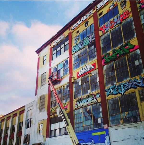 5 pointz destroy paints MPVNY