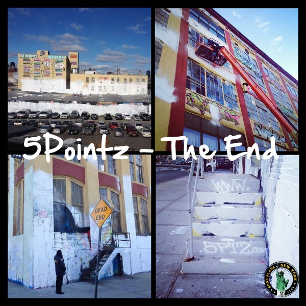 5 pointz the End MPVNY