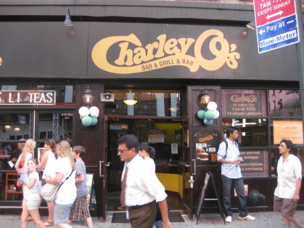 Charley O's Times Square Grill MPVNY