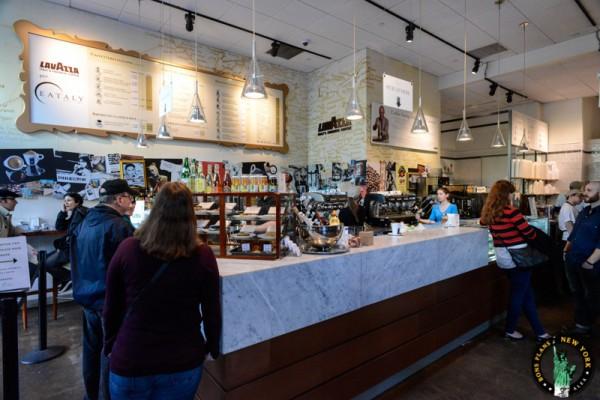 Eataly Nueva York MPVNY CAFE LAVAZZA