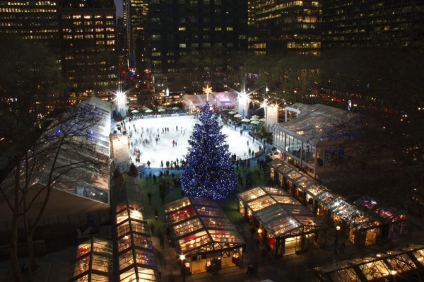 The Holiday Shops at Bryant Park MPVNY